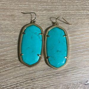 Kendra Scott | Danielle Drop Earrings | Turquoise